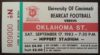 1983 NCAAF Oklahoma State at Cincinnati ticket stub