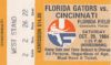 1984 NCAAF Cincinnati at Florida ticket stub