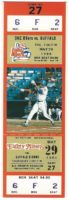 1986 MiLB Buffalo Bisons at Oklahoma City 89ers ticket stub