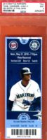 2010 MLB Twins at Mariners Griffey final game ticket stub