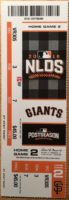 2016 MLB NLDS Game 4 Cubs at Giants ticket stub