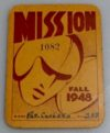 1948 Mission High School San Francisco season pass ticket stub