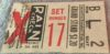 1950s MiLB American Association Louisville Colonels ticket stub