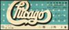 1972 Chicago Live in Osaka Japan concert ticket stub