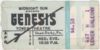 1976 Genesis Live in Philadelphia ticket stub
