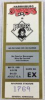 1988 Pittsburgh Pirates at Harrisburg Senators ticket stub