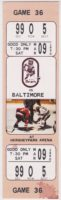 1990 AHL Baltimore Skipjacks at Hershey Bears ticket stub