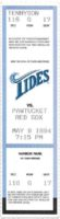 1994 MiLB International League Pawtucket Red Sox at Norfolk Tides ticket stub
