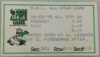 1998 MiLB Midwest League All Star Game ticket stub
