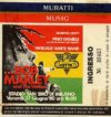 1980 Bob Marley and the Wailers in Milan ticket stub