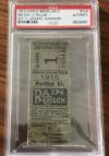 1915 World Series Game 3 Phillies at Red Sox Babe Ruth 1st WS Ticket Stub