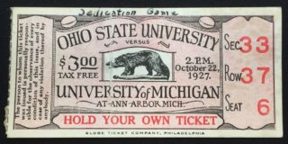 1927-ncaaf-ohio-state-at-michigan-ticket-stub-388