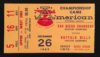 1965 AFL Championship Game Bills at Chargers ticket stub