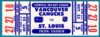 1970 NHL Blues at Canucks ticket stub