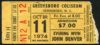 1974 John Denver Live in Greensboro ticket stub
