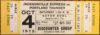 1975 WFL Portland Thunder at Jacksonville Express ticket stub