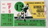 1982 NCAAMB Virginia at Georgia Tech ticket stub