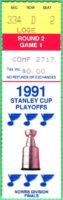 1991 NHL Playoffs Rd 2 Gm 1 North Stars at Blues ticket stub
