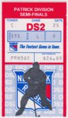1991 NHL Playoffs Round 1 Game 2 Capitals at Rangers ticket stub