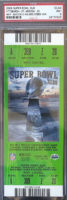 2009 Super Bowl Steelers vs Cardinals ticket stub