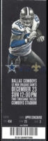 2012 NFL Saints at Cowboys ticket stub