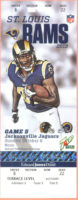 2013 NFL Jaguars at Rams ticket stub