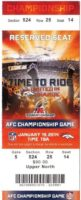 2014 AFC Championship Game Broncos vs Patriots