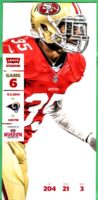 2014 NFL Rams at 49ers ticket stub