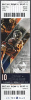 2016 NFL Lions at Bears ticket stub