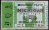 1934 NCAAF Michigan State at Michigan ticket stub
