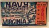 1935 NCAAF Virginia at Navy ticket stub