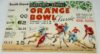 1952 Orange Bowl Georgia Tech vs Baylor ticket stub