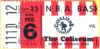 1977 NBA Nets at Cavaliers ticket stub