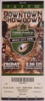 2016 Music City Bowl Nebraska vs Tennessee ticket stub
