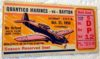 1950 NCAAF Quantico Marines at Dayton ticket stub