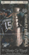 1999 Stanley Cup Final Game 2 Sabres at Stars ticket stub