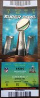 2017 Super Bowl Falcons vs Patriots ticket stub