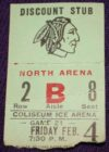 CHL Dallas Blackhawks ticket stub