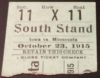 1915 NCAAF Iowa at Minnesota ticket stub