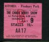 1964 Chuck Berry UK ticket stub