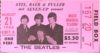 1966 Beatles at Busch Stadium Ticket Stub