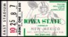 1972 NCAAF New Mexico at Iowa State ticket stub