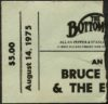 1975 Bruce Springsteen concert ticket stub Bottom Line