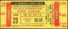1975 Pink Floyd ticket stub Los Angeles
