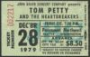1979 Tom Petty Fabulous Poodles Concert Ticket Stub Seattle