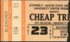 1982 Cheap Trick Ticket Stub Nacogdoches