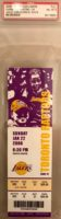 2006 NBA Raptors at Lakers Kobe Bryant 81 Point Game Ticket Stub