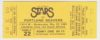 1985 Las Vegas Stars ticket stub vs Portland Beavers