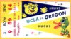 1954 NCAAF Oregon at UCLA ticket stub