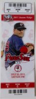 2015 MiLB Buffalo Bisons at Pawtucket Red Sox ticket stub